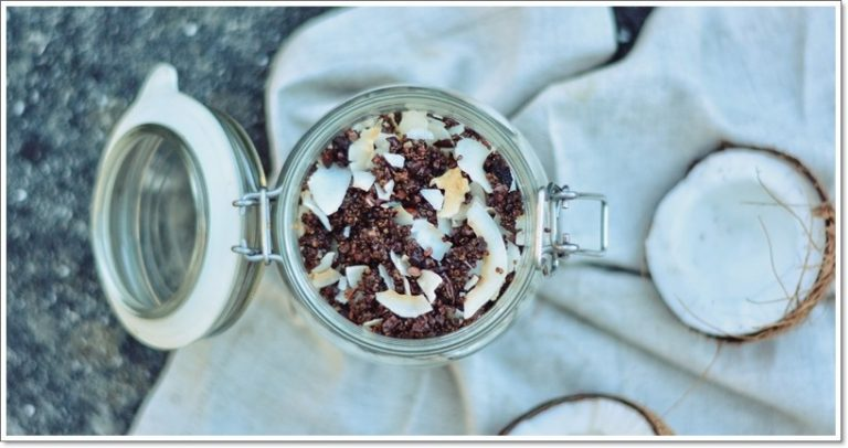 Granola de Quinoa e Cocô