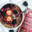 Buda Bowl Maca e Baunilha com Compota de Amoras