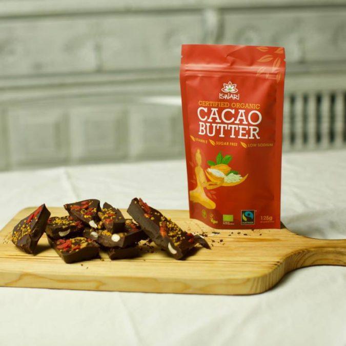 Cocoa Butter Iswari chocolate